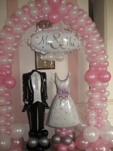 Palloncini matrimonio - Decorazioni matrimonio palloncini ...